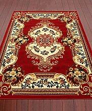 KKCF Wohnzimmer Couchtisch Schlafzimmer Bedside Teppich Matten gepflastert, pastoralen europäischen modernen minimalistischen Teppich Slip Tür Anti-Rutsch ( farbe : E , größe : 0.8*1.0m )