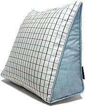 KKCFDIAN Baumwolle Bedside Kissen Bett Rückenlehne Kissen Lendenwirbel Kissen für Bedside, Stuhl, Auto, Sofa waschbar ( Farbe : E , größe : 60*50*25CM )