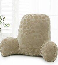 KKCFDIAN Baumwolle Bedside Kissen Bett Rückenlehne Kissen Lendenwirbel Kissen für Bedside, Stuhl, Auto, Sofa waschbar ( Farbe : I , größe : 55*40cm )