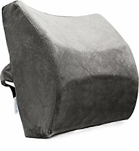 KKCFDIAN Kissen Büro Lendenwirbel Kissen Auto Sitz Lendenwirbel Rückenlehne Kissen Für Bett, Sofa, Auto, Stuhl ( Farbe : I , größe : 32*34*13.5cm )