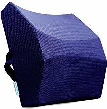KKCFDIAN Kissen Büro Lendenwirbel Kissen Auto Sitz Lendenwirbel Rückenlehne Kissen Für Bett, Sofa, Auto, Stuhl ( Farbe : H , größe : 36*35*13.5cm )