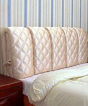 KKCFDIAN Tuch Bett Kissen Kopfteil Kissen Rückenlehne Kissen kann gewaschen werden ( Farbe : G , größe : 125*60CM )