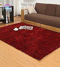 KKCFTAN Einfache moderne Teppich Wohnzimmer Schlafzimmer Anti-Rutsch-verdickte Teppich ( farbe : D , größe : 120*170cm )