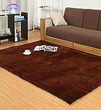 KKCFTAN Einfache moderne Teppich Wohnzimmer Schlafzimmer Anti-Rutsch-verdickte Teppich ( farbe : H , größe : 120*170cm )