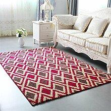 KKCFTAN Europäische Stil Verdickte Couchtisch Teppich Wohnzimmer Schlafzimmer Nachttisch Teppich ( farbe : C , größe : 1.6*2.3m )
