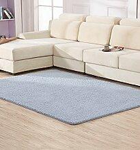 KKCFTAN Fußmatten Anti-Blockier-System Rechteckige Teppich für Wohnzimmer, Kaffee, Tisch, Sofa, Schlafzimmer, Bettvorleger, 0.65-1.4m * 1.6-2.0m Teppiche, Teppiche Türmatten Fußpolster ( Farbe : A , größe : 0.65*1.6m )