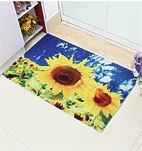 KKCFTAN Fußmatten Mat Wasserdichte Tür Boden Teppich Teppich Badezimmer Anti-Roll Schlafzimmer Matten Boden Teppich Teppiche Türmatten Fußpolster ( Farbe : G , größe : 80*120cm )