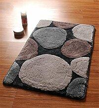 KKCFTAN Fußmatten Mat Wasserdichte Tür Matte Fuß Teppich Teppich Badezimmer Anti-Roll Schlafzimmer Matten Boden Teppich Teppiche Türmatten Fußpolster ( Farbe : A , größe : 40*60cm )