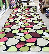 KKCFTAN Fußmatten Pastoral-Teppich-Schlafzimmer-Wohnzimmer-rutschfester wateproof Tür-Matten-Fuß-Wolldecke Teppiche Türmatten Fußpolster ( Farbe : C , größe : 120*200CM )