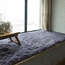 KKCFTAN Fußmatten Schwamm Laminierter Teppich, Fußmatten, Rutschfeste Balkon Matten, schwimmende Fenstermatten, Windowsill Teppiche, Teppiche Türmatten Fußpolster (Größe : 90*180cm)