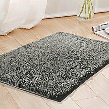 KKCFTAN Teppich Schlafzimmer Küche Badezimmer Anti-Rutsch wasserdichte Fußmatten Fußteppich ( farbe : E , größe : 50*80CM )