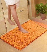 KKCFTAN Verdickte Türmatten Wohnzimmer Schlafzimmer Nicht rutschfeste Wasser saugfähige Fußmatten Teppich ( farbe : C , größe : 50*120cm )
