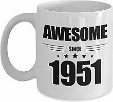 kkkkingu Kaffee-Haferl 68. Geburtstagsgeschenke