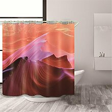 KKLL 3D Duschvorhänge Polyester Verdickte Mehltau Resistent Wasserdichte Bad Dekoration Cut off Hanging Vorhang , 1 , 150*180cm