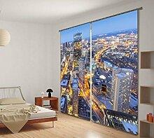 KKLL 3D Stereo City Nacht Architektur