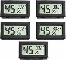 KKmoon 5 stücke Mini Digital LCD Temperatur und