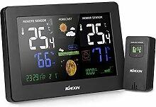 KKmoon Thermometer und Hygrometer multifuncionl