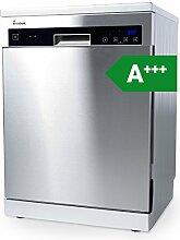 KKT KOLBE GS6013ED Geschirrspüler Standgerät Unterbau 60 cm / A+++ energiesparend / Edelstahl / EasyLift Oberkorb / flexible Platzaufteilung