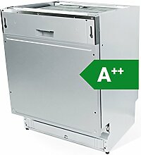 KKT KOLBE GS60VI Einbau Geschirrspüler vollintegrierbar / 60 cm / A++ Energie sparend / EasyLift Oberkorb höhenverstellbar / flexible Platzaufteilung