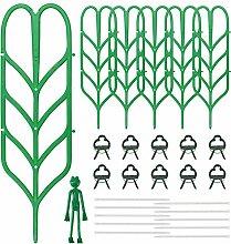 KKTICK Rankhilfen für Kletterpflanzen, 6 Stück