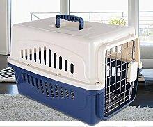 KKZLL Transportbox Box-Hund und Katze Haustier auf