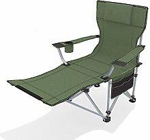 Klapp Camping Stuhl Camping Recliner Tragbare