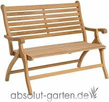Klappbank Roble 2-Sitzer von Alexander Rose