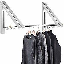 Kleiderhaken Klappbar Aussenbereich kleiderwandhaken Wäschelüfter Kleiderständer
