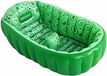 Klappbare Badewanne Baby-Badewanne Kind Baby Neugeborene Inflated Isolierung Dicker Kalt-Badewanne Aufblasbare Badewanne ( Farbe : E )