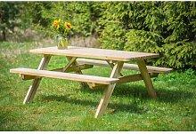 Klappbare Gartenbank Mikaela aus Holz Garten Living