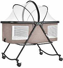 Klappbare Wiege Reisebett Tragbare Krippe Baby Mit