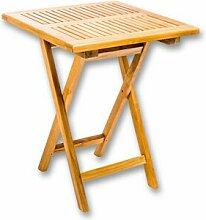 Klappbarer Balkontisch Wellston aus Holz Brambly