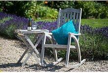 Klappbarer Bistrotisch Alanson aus Holz Garten