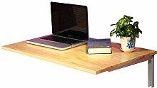 Klappbarer Computertisch, wandmontierter Esstisch,