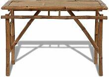 Klappbarer Esstisch Eldorado aus Holz Sansibar Home