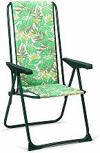 Klappbarer und verstellbarer Stuhl 5 Positionen