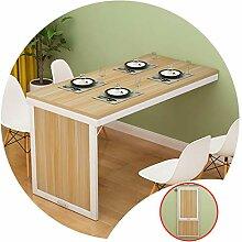 Klappbarer Wandtisch für Zuhause, Büro, kleiner