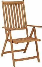 Klappsessel Gartensessel klappbar Terrassenmöbel Balkonmöbel FSC® Akazienholz