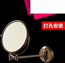 Klappspiegel Badezimmerwand/Doppelseitiger Spiegel/Badspiegel Teleskop Zoom-E