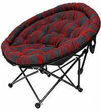 Klappstühle Haushaltsstühle Single Moon Stühle Lazy Sofa Liegestuhl Schlaf-Lounge-Stuhl Lazy Sofa (eine Vielzahl von Farben optional) ( farbe : #1 )