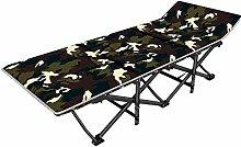 Klappstuhl, einfacher Liegestuhl, für Camping,