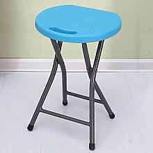 Klappstuhl Hocker Kunststoffstuhl Easy Chair Small Hocker Tisch Portable ( Farbe : 1 )