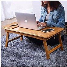 Klapptisch Bambusbett Klappbarer Laptop