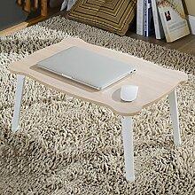 Klapptisch Faltbarer Laptop-Tisch, Nachttisch
