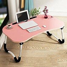 Klapptisch Feifei Faltbare Laptop-Bett-Tabelle,