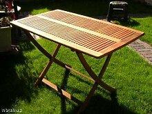 Klapptisch, Gartentisch, Holztisch, Tisch, von