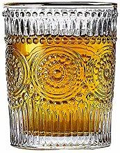 Klare Trinkgläser, Kristall, Whiskey-Gläser,