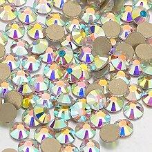 Klarer Kristall Ab Flatback Glas Strass Nicht-Für
