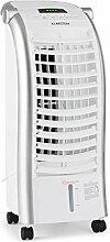 Klarstein • Maxfresh WH • Ventilator • Luftkühler mit Wasserkühlung • Lufterfrischer • Luftbefeuchter • 3 Leistungsstufen • 3 Ventilationsmodi • Schwenkfunktion • Fernbedienung • energiesparend • 65 Watt • 6 Liter Wassertank • inkl. Eispacks • weiß