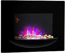Klarstein Feuerschale • Elektro-Wandkamin •